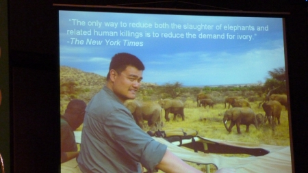 2 Onlh way to reduce slaugher of Ivory is to reduce the demand for ivory