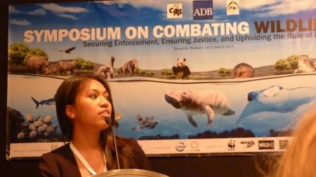 2 Philipine marine activist