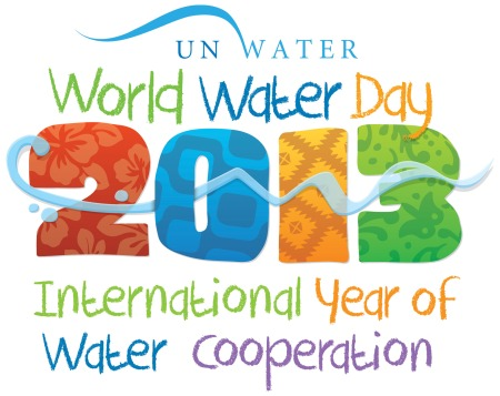 logo for World Water day