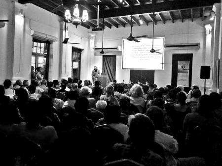 The packed house for WNPS monthly lecture (c) DailyFT