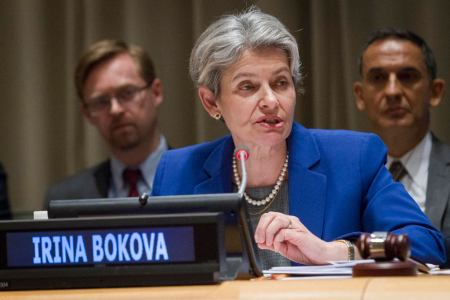 UNESCO chief Irina Bokova