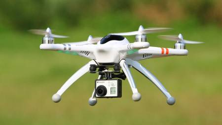 Drone- ' new kid on block' - can also be used for conservation and many other applications