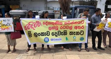 Sri Lanka's global strike for Climate - threats to SL